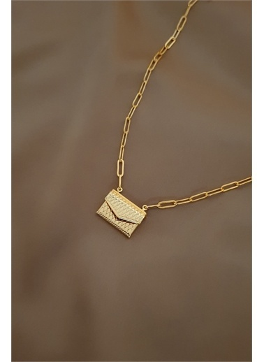 Bej takı Bijuteri Kolye Altın